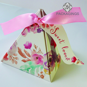 Paper wedding giveaways box wedding gift box