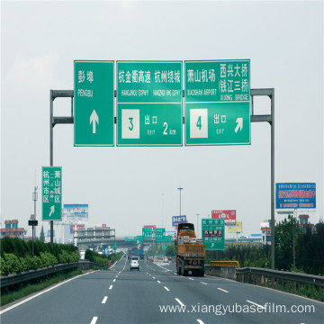 Traffic Signs Reflective Coating Reflector Base Film