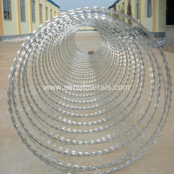 flat type barbed razor wire