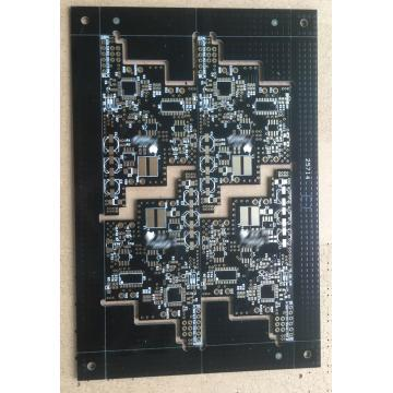 2 layer  black solder PCB board