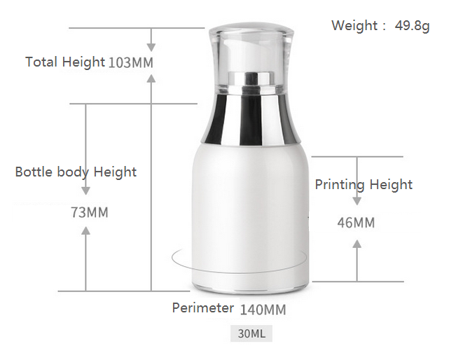 30ml airless bottle
