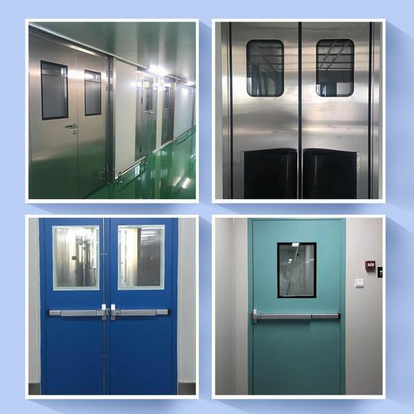 Clean room door factory