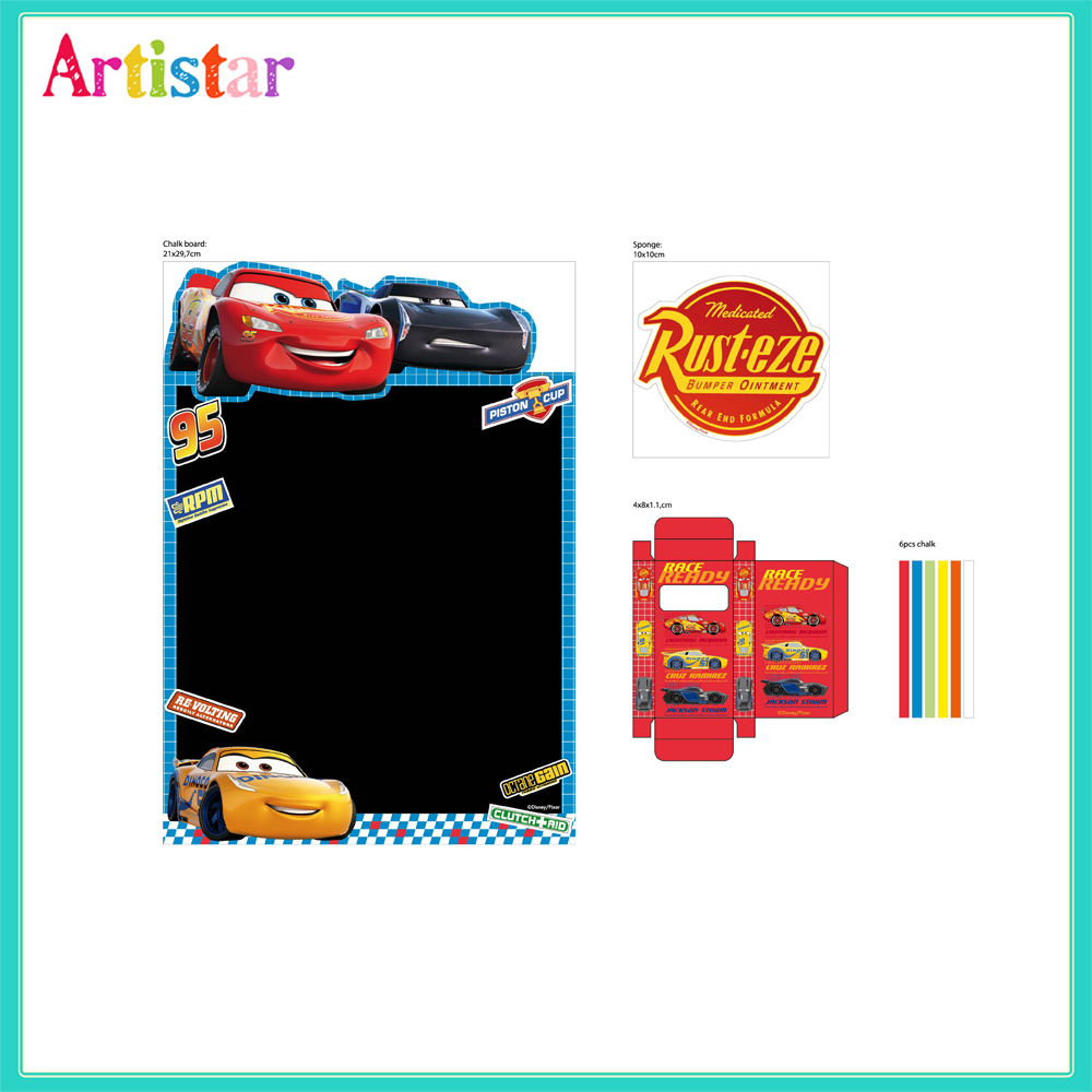 Disney Pixar Cars Chalk Board 2