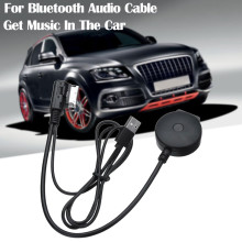 1PCS For Bluetooth Audio Cable For Audi A4L A5 A6L A8L Q7 Q5 AMI MMI/2G Interface 25-50mA Charger Phone Via Bluetooth Adapter