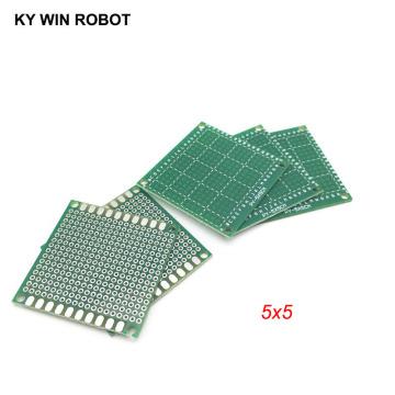 5pcs 5x5cm 50x50 mm Single Side Prototype PCB Universal Printed Circuit Board Protoboard For Arduino