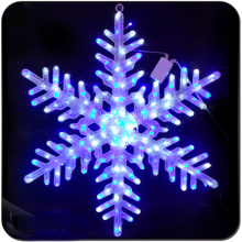 lighted indoor window decorations snowflake