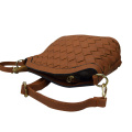 Women's brown fashion Shoulder Crossbody Bag