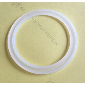 Coffee Cup White Clear Silicone Gaskets