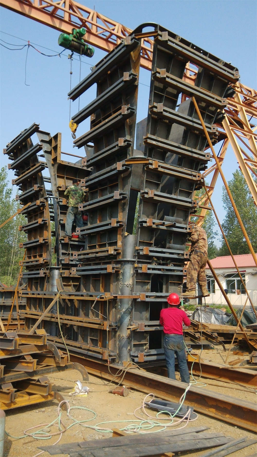 bridge concrete construction formwork