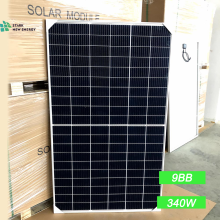 340W Half cell Poly Solar Panel