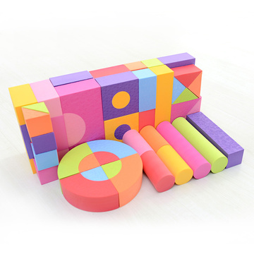 Diy Educational Toy Eva Foam Building Blocks