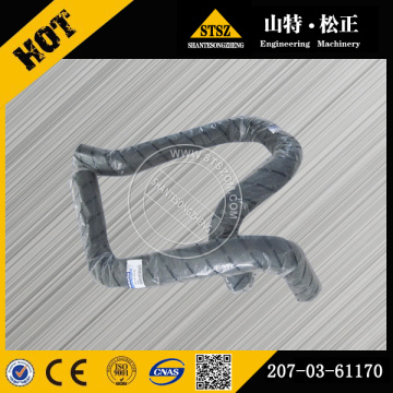 PC300-6 excavator radiator hose 207-03-61170