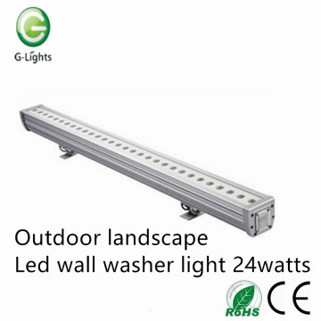 Outdoor landscape led wall washer light 24watts