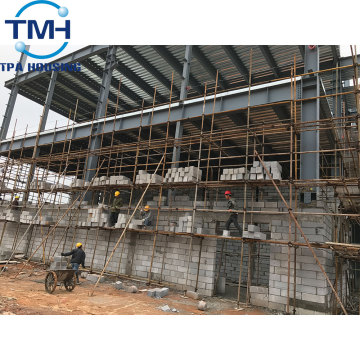 warehouse application prefabricated steel building