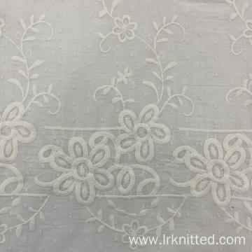 High Quality Factory - Made Embroidered Fabric