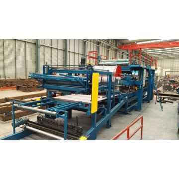 Sandwich Wall Panel Making Machine Line