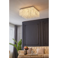 Modern Delicate Living Room Crystal Ceiling Light