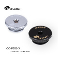 Bykski CC-PD2-X PC Water Cooling Fittings Accessories Parts G1/4' Ultra-Thin Choke Plug 2MM