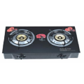 Glass Table Top Gas Cooker 2 Burners