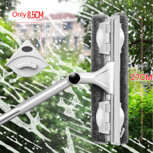 YOREDE Telescopic Glass Cleaning Brush Multifunction Mop For Wash Windows 360 Rotating Glass Wiper Household Cleaning Products