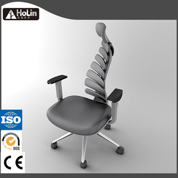 Swivel Synthetic PU Leather Ergonomic Office Chair