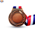 Blank copper medal award for engraving