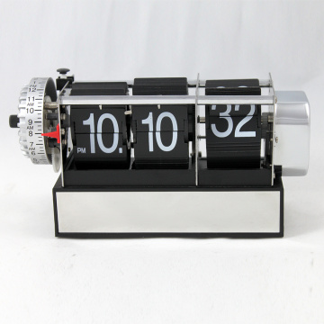 Dynamic Alarm Flip Black Clocks for Decor