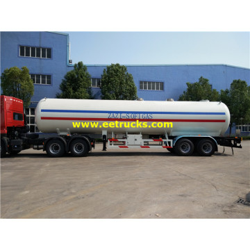 50m3 25T LPG Transport Trailer Tankers