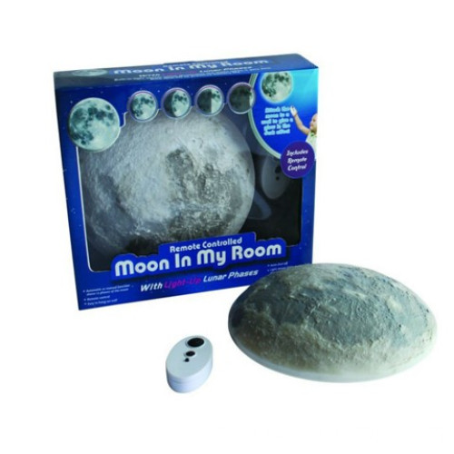 LED moon light convertible moon lamp with batteries