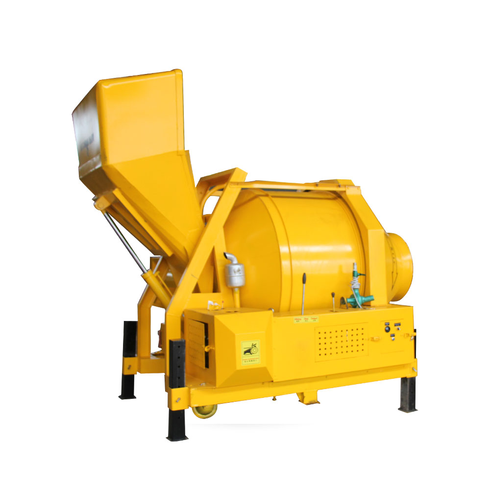 electric drum concrete mixer