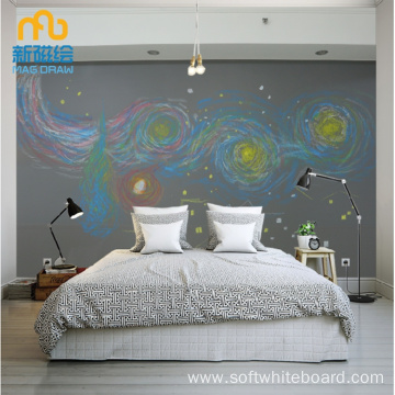 Large Wallpaper Chalkboard Children's Magnetic Kid Room for Kid Room
