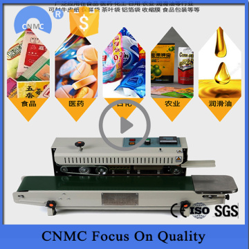 Fr900 Continuous Film Sealing Machine