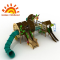 Large Log Outdoor Playground Equipment