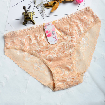Soft and comfortable Hollow transparent panties