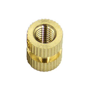 Knurled Threaded Insert Embedment Female Thread Nuts