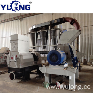 Cypress tree hammer mill