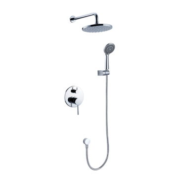 Wall Mounted Concealed Brass Shower Faucet