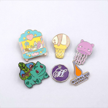 Wholesale Custom Soft Enamel Cartoon Lapel Pins