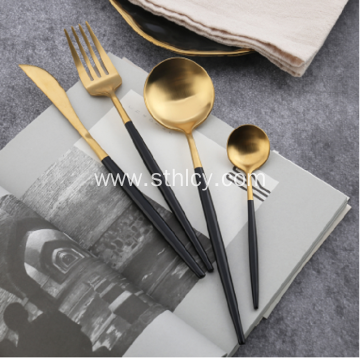 Hot Selling Elegant Gold-plated Tableware