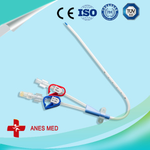 Double lumen Hemodialysis Catheter set