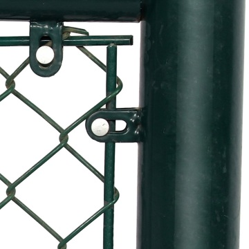 galvanized pvc coated football field chain link fence
