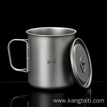 Strong Acid and Alkali Resistance Pure Titanium Cup