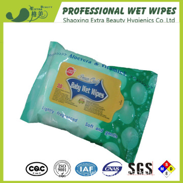 Fragrance Baby Cleaning Biodegradable Wet Wipes