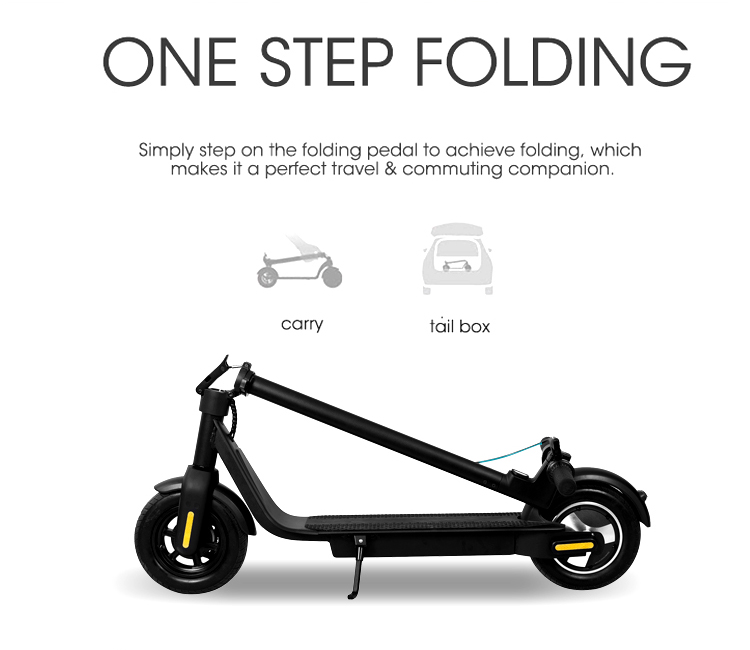 X10 Electric Scooter Details 04