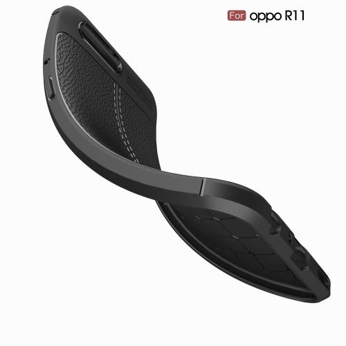 Leather Soft TPU Scratch Resistant for OPPO R11
