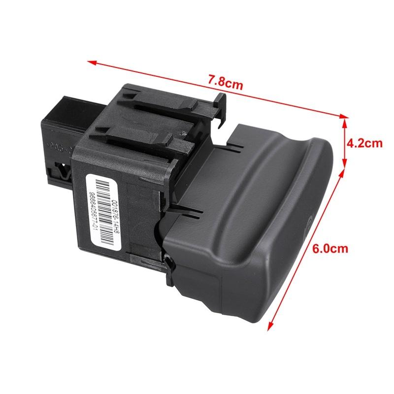 Car Electric Handbrake Brake Control Switch Parking Switch for Peugeot 3008/5008 470706