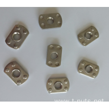 Stainless steel Weld Nuts M4X0.7