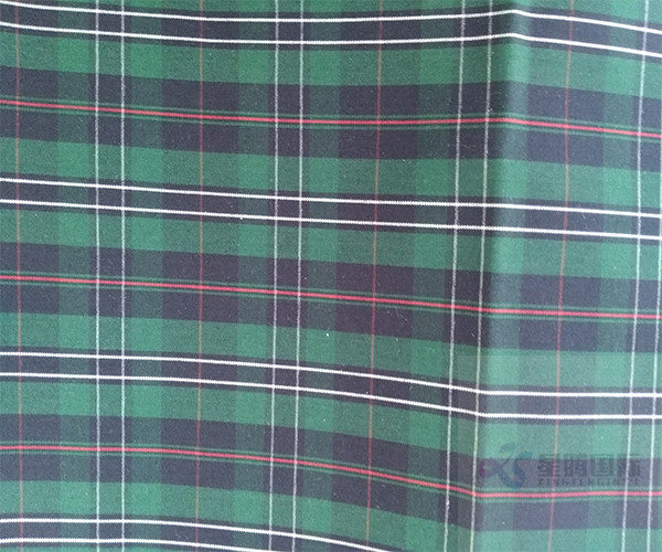 100% Cotton Plaid Design Fabric
