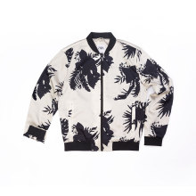 Men`s 100% Polyester all over printing jacket