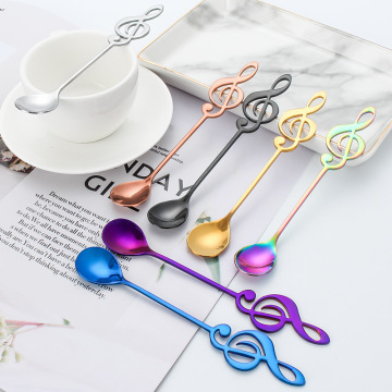 Music Coffee Spoon Stainless Steel Coffee Cupping Spoon